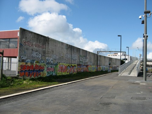 Auckland Graffiti Train Station