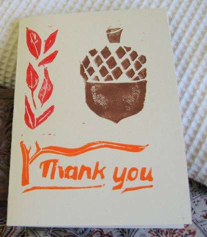 Thank you card studioahimsa