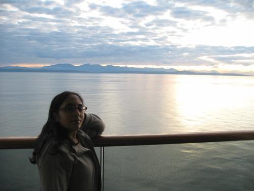 Tazim on Balcony