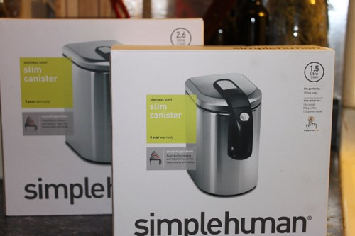 simplehuman canister