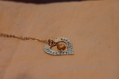 sima g. necklace