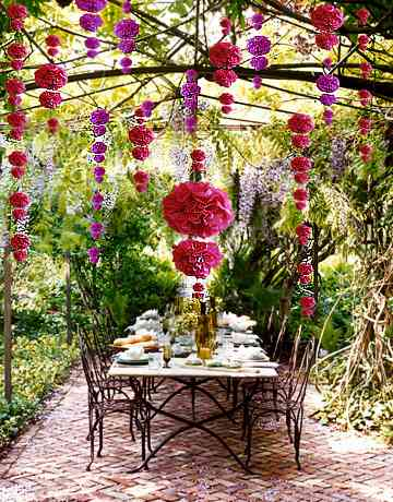 garden poms