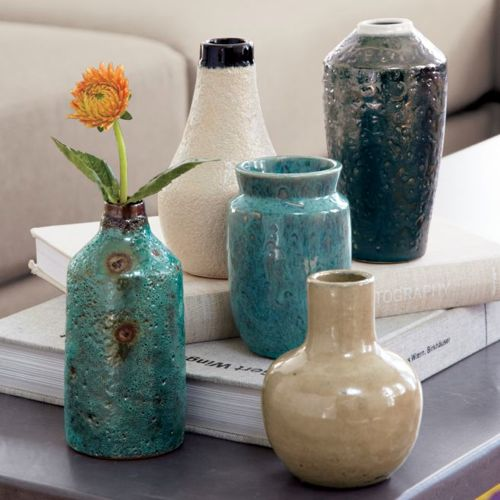 Glazed vases from CB2