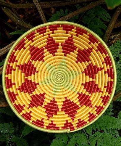 Haiti Handmade Basket