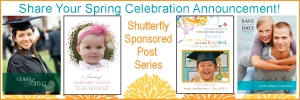Shutterfly announcement celebration