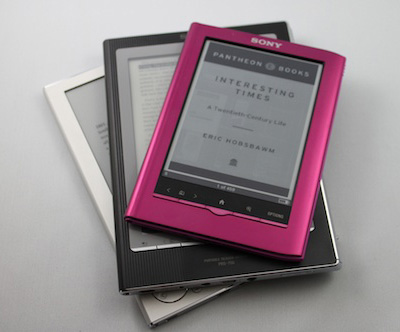 Sony e-readers