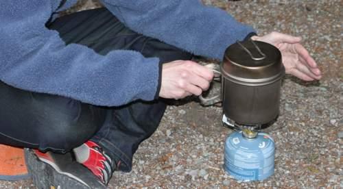 camping popcorn