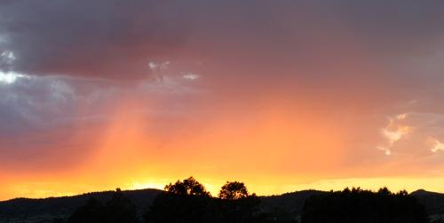 sunset texas