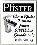 Pfister Giveaway