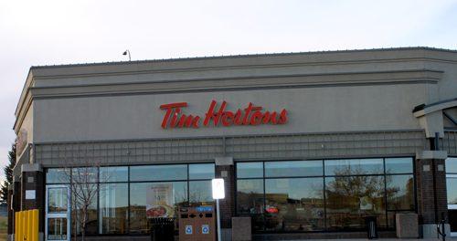 Tim Hortons Exterior