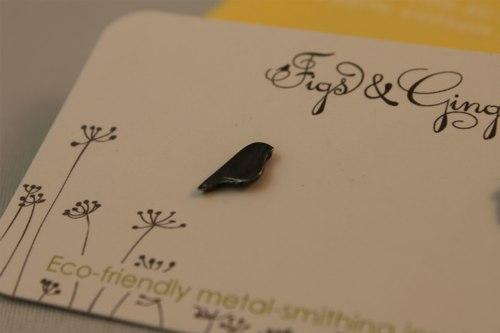 bird handmade earrings