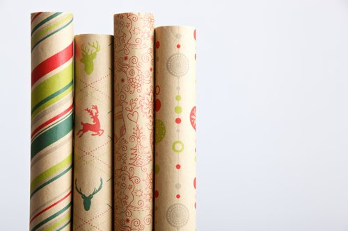 cascades wrapping paper