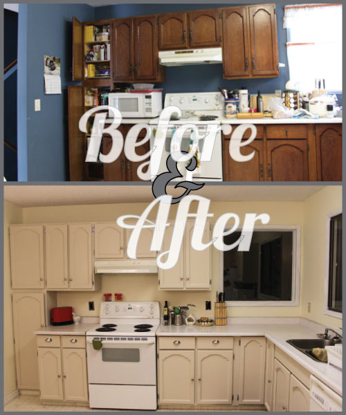 Before and After: Mom's Kitchen
