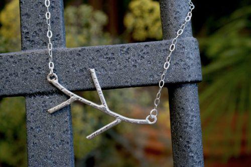 handmade Twig Pendant