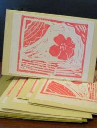 Alberta Wild Rose Card