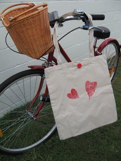 Bag handmade by Kylie