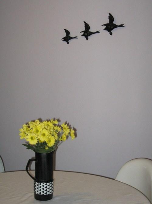 birds on wall decor