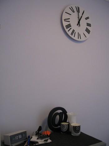 Clock in Living Room