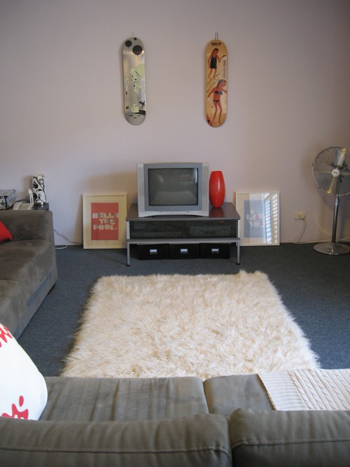 Far view living room