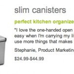 Creatively Designed Canisters – Simple Human Review