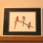 Bold Bird Series New Print- Studioahimsa Stationery and Prints
