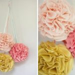 How to Make String Lamp Shades and Pom Pom Decorations