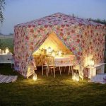 Outdoor Eco-Friendly Lighting For Evening Entertaining