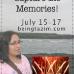 Capture The Memories—BlogFest #Giveaway US/Canada