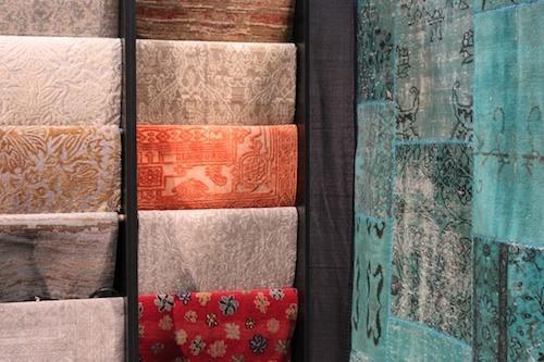 Rugs in seasonal colours