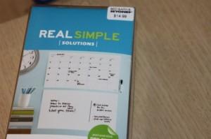 Real Simple Calendar