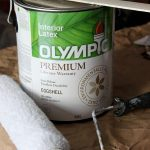 Transforming the Living Room & Dining Room with Olympic Paint—Renovation Redecoration