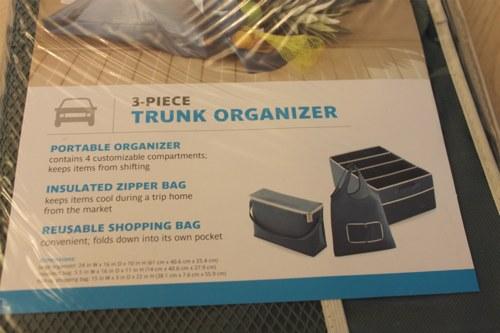 organizer trunk