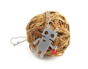 Robot Love necklace