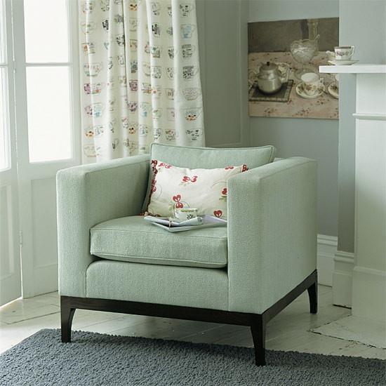 pastel armchair
