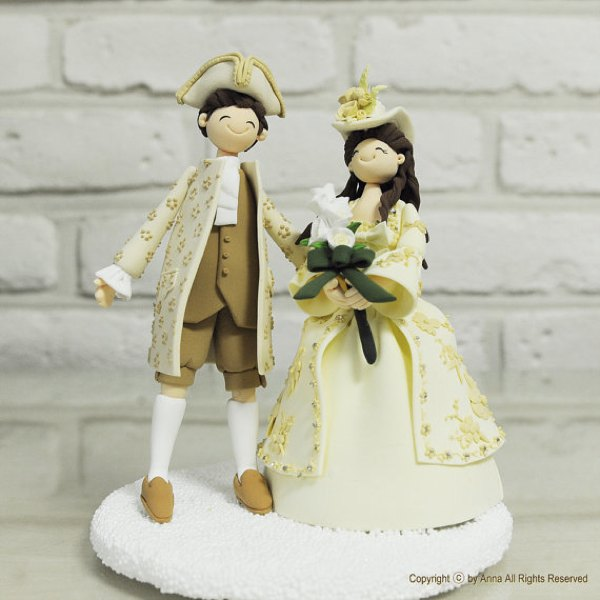 traditional wedding topper