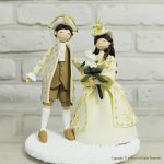 Personalized Handmade Wedding Cake Toppers