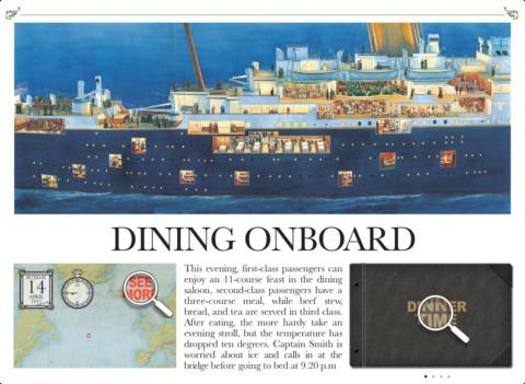 titanic dining