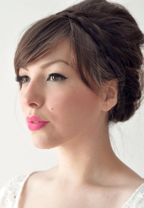 bright bridal makeup