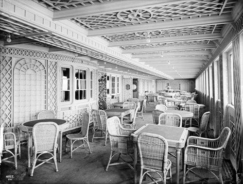 titanic balcony