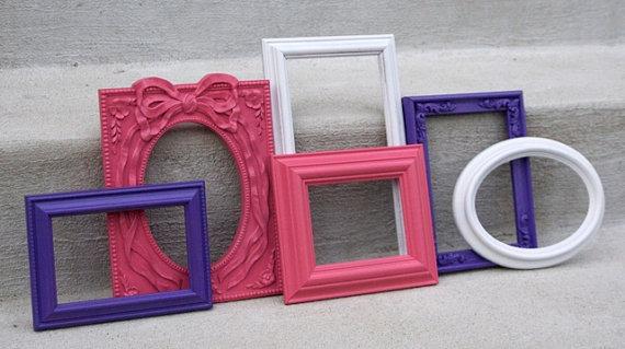 hot pink frames