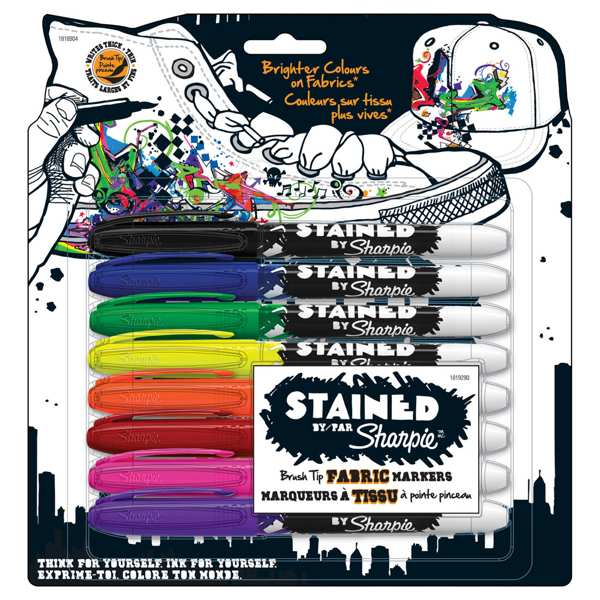 stained sharpie