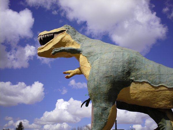 drumheller dinosoar