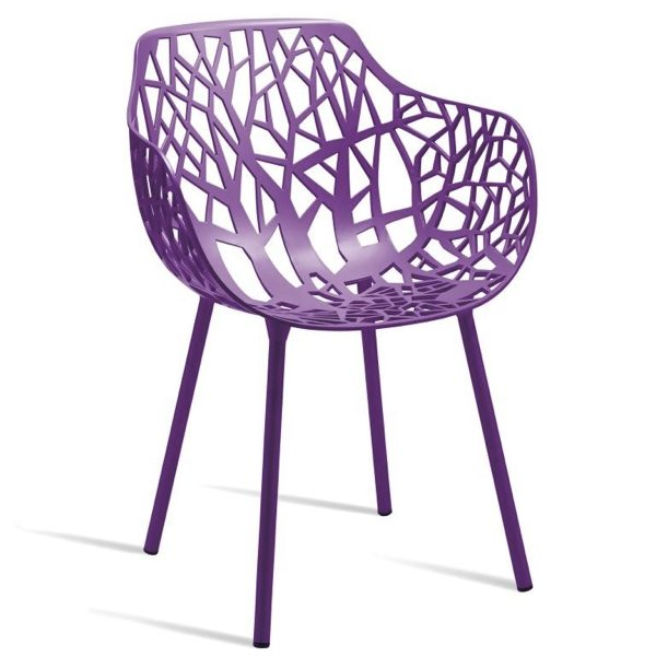 lilac forest chair