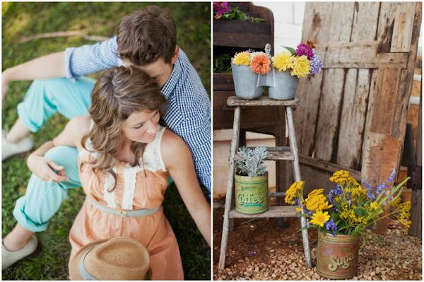 Rustic Wedding Ideas for Late Spring - Being Tazim