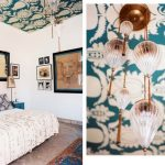 Quick Inspiration — Wallpapered Ceiling