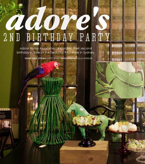 adore home birthday