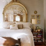 Romantic Vintage Modern Antiqued Mirror Headboards