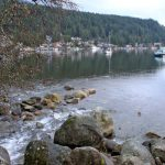 December in Deep Cove, B.C.