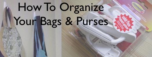 organize bags