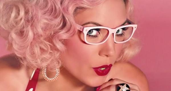 skylar pink glasses derek cardigan
